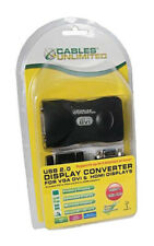 Cables Unlimited Multi-Display USB to DVI, VGA, & HDMI Video Adapter Kit