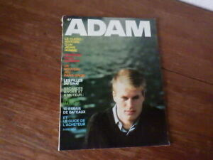 Magazine ADAM La Revue de l'Homme Nr 290 (Avril 1964) Mode Fashion Lifestyle