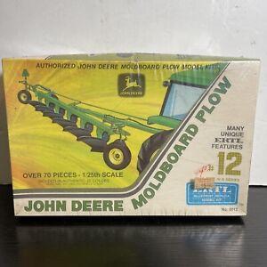 John Deere Moldboard Plow #8012 - 1/25th Scale ERTL Model Kit - Factory Sealed!