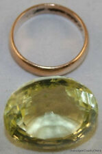 NATURAL CITRINE LARGE GEMSTONE LEMON COLOUR 17X22X14mm OVAL CUT 35.9CT GEM CI01B