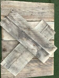 Rustic Scaffold Boards Reclaimed Old Aged Weathered Shelves 2FT Lengths