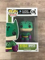 Funko Pop! The Riddler Impopster #126 DC Super Heroes B02