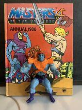 Masters of the Universe MOTU He-man Faker  Original Vintage FigureWith Annual