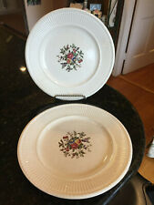 """Wedgwood Edme 10.5"""" Round Dinner Plate """"Conway"""" 1 plate + 1 Free, Rare"""