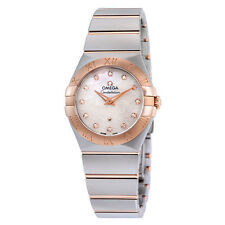 Omega Constellation Mother of Pearl Dial Quartz Ladies Watch 123.20.27.60.55.007