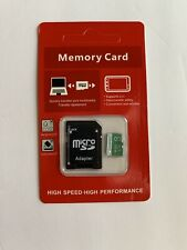 Micro Sd memory card 8gb With Adapter.