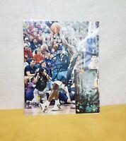 NBA Charlotte Hornets Larry Johnson Signed Autographed  8x10 Photo