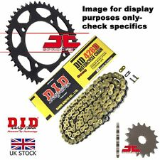 Yamaha TZR50 (428 chain) -Spain  DID Gold Chain Sprocket Kit 12/47t 428/134