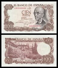 España - Spain  100 Pesetas 17-11-1970 Pick 152  SC = UNC