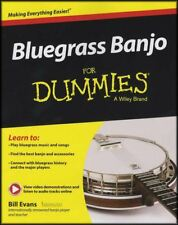 Bluegrass Banjo for Dummies 5-String Banjo TAB Music Book/Audio Learn to Play