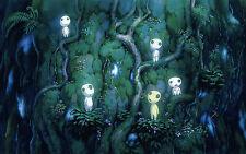 Ghibli 5 Kodama Baum Geister Kiinushii Baumgeister Prinzessin Mononoke Set NEU