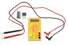 Digital Multimeter AC DC Voltage - Batteries and Test Leads Included