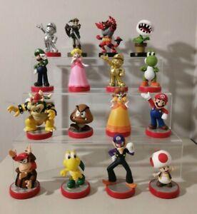 Nintendo Amiibo SUPER MARIO SERIES & MORE *YOU CHOOSE* Loose Displayed Only