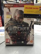 The Witcher Wild Hunt Ita PC DVD ROM NUOVO SIGILLATO