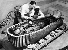 Vintage King Tuts Tomb Photo Bizarre Odd Freaky Strange