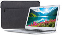 "Acer 14"" HD Quad-Core Processor 4GB 32GB eMMC Chromebook + Laptop Sleeve Bundle"