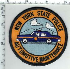 New York State Police 1st Issue Auto Maintenance Shoulder Patch