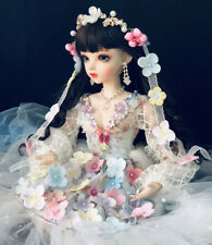 1/3 Ball Jointed BJD Doll Girl + Free Face Makeup Eyes Wigs Clothes Full Set Toy