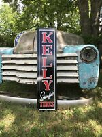 Antique Vintage Style Kelly Springfield Tires Sign