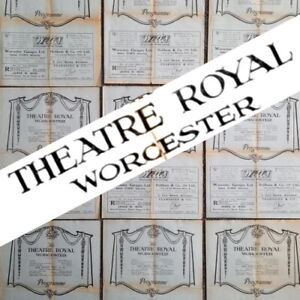 NINE 1930s Worcester Theatre Royal Programmes Variety & Revue