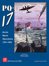 wargame - PQ-17  GMT no Compass MMP AH DG  GAMERS SPI AVALON HILL