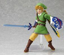 Anime Figma 153 The Legend of Zelda Skyward Sword Link Action PVC Figure No Box