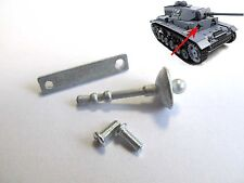Mato 1/16 German Panzer III Tank Upper Hull Metal Machine Gun MT101