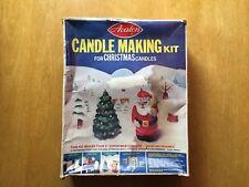 Vintage kitsch 1970s Avalon Christmas Candle Making Kit Novelty santa holiday