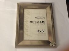 Zebra TG315 Fine English Pewter On A PHOTO FRAME SILVER 6X4 Hang/Stand