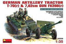 Miniart 35039 1/35 German Artillery Tractor T-70(r) and 7,62cm FK 288