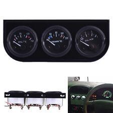 3in1 Oil Temp Water Temp Oil Pressure Gauge Sensor for Auto Car Truck Meter