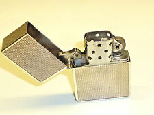 Vintage 800 silver case with Zippo lighter Insert/Inlay PAT. 2517191-VERY RARE