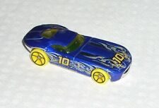 New 2019 Hot Wheels Car Fast Fellon Blue Yellow Rare Mint