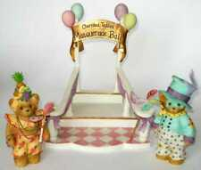 Cherished Teddies Masquerade Ball Collector Set - Staircase, Don And Yolanda
