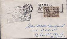 1928 First Flight, Edmonton to Winnipeg, Scott C1, Lot 6916