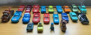 22 DISNEY CARS IN GOOD CONDITION