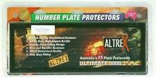 Altrex 6QSL 6 Figure Slimline Number Plate Protector with Lines