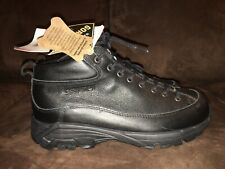 Crispi Boots Goretex Leather Mens Size 7.5 New Black Hiking Shoes Outdoors