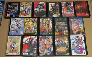Neo Geo AES Japan Games & Consoles ORIGINAL + Tested * CHOICE * Only pay 1 Ship