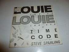 "TIME CODE - Louie Louie - Deleted 1986 UK 2-track 7"" Vinyl Single"