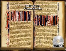 Biblia Sacra Vulgata Latina 1300 Ad - Bible in the Latin Vulgate Manuscripts