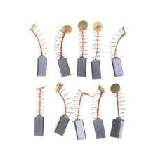 10Pcs 5 X 5 X 8Mm Power Tool Motor Carbon Brush Replacements JE