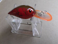 Custom Painted Predator's Storm Wiggle Wart,V Model,Spring Bayou,Clear Lip