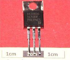 Tiristor SCR TIC106M, 600V 3.2A 0.2mA, TO-220 3-Pin
