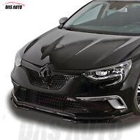 Renault Megane 4 IV Noir Brillant avant Grille Badge Emblème 2016 + Rs Mf