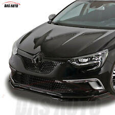 RENAULT MEGANE 4 IV GLOSS BLACK FRONT GRILL BADGE EMBLEM 2016+ RS mf