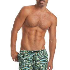 MR TURK 'Zuma Beach' Men's Sea Glass Print Swim / Bathing Trunks Briefs 30 *NWT*