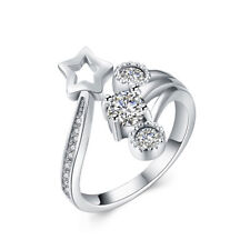 Sterling Silver Star Ring Adjustable to fit Size 5-11