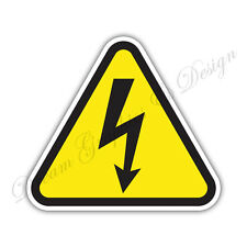 High Voltage Danger Warning sign Car Bumper Vinyl Sticker Window Car Bumper #023