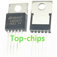 5pcs LM2587T-ADJ LM2587T SIMPLE SWITCHER 5A Flyback Regulator